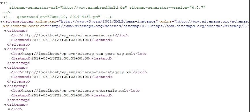 XML-サイトマップ