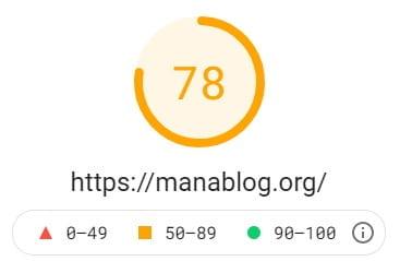 マナブログ分析-表示速度